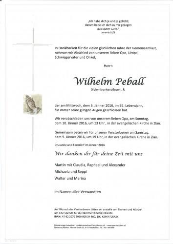 Wilhelm Peball