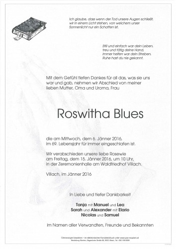 Roswitha Blues