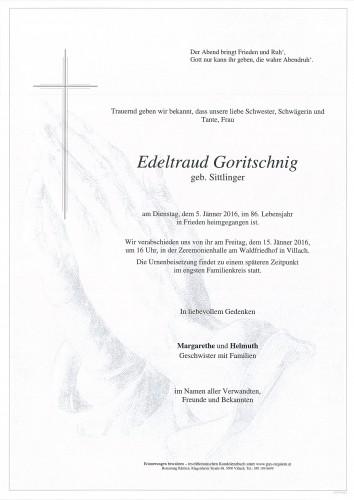 Edeltraud Goritschnig