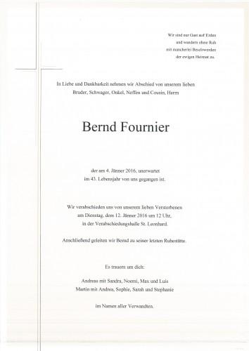 Bernd Fournier