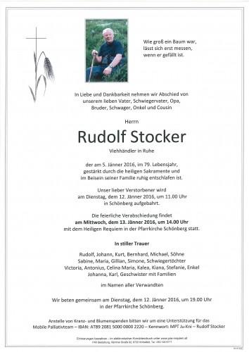 Rudolf Stocker