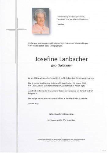 Josefine Lanbacher