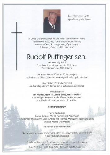 Rudolf Puffinger sen.