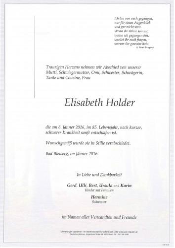 Elisabeth Holder