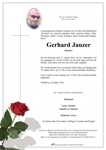 Gerhard Jauzer