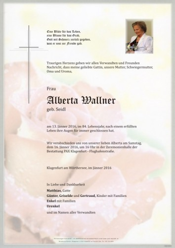 Alberta Wallner