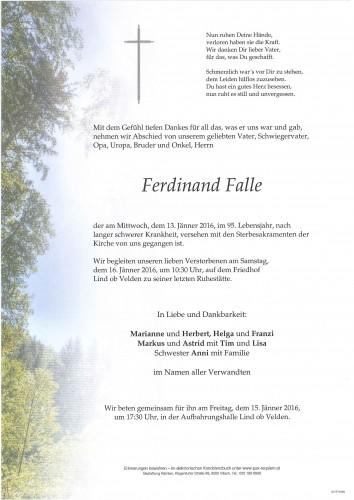 Ferdinand Falle