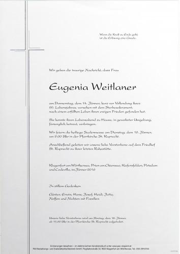 Eugenia Weitlaner