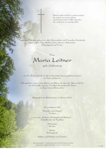 Maria Leitner