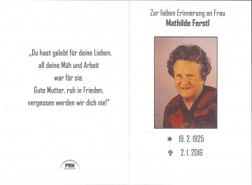 Mathilde Ferstl