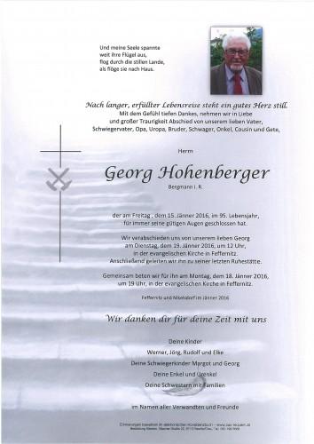 Georg Hohenberger