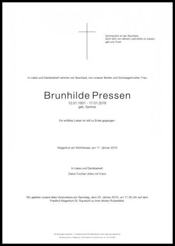 Brunhilde Pressen