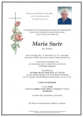 Maria Suete