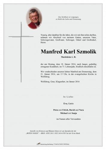 Manfred Karl Szmolik