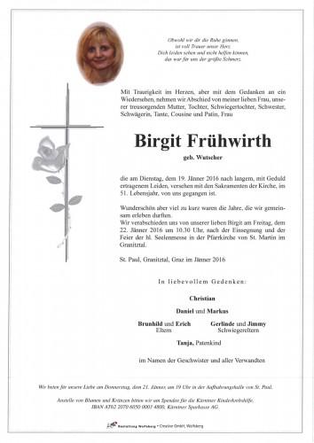 Birgit Frühwirth