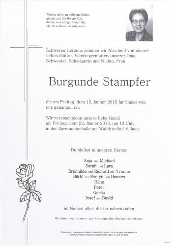 Burgunde Stapfer