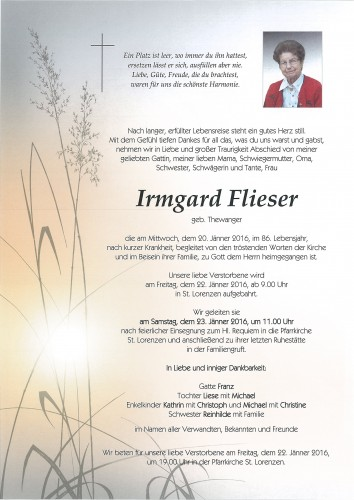 Irmgard Flieser