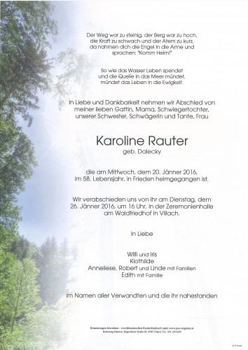 Karoline Rauter