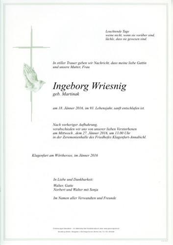 Ingeborg Wriesnig