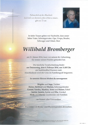 Willibald Bromberger