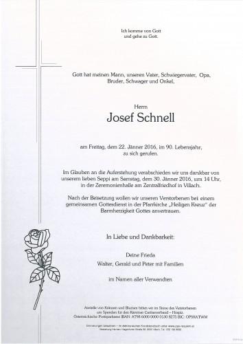 Josef Schnell