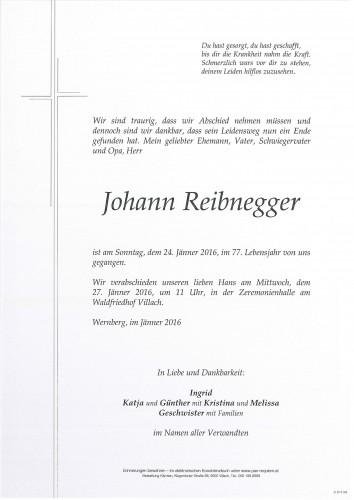 Johann Reibnegger