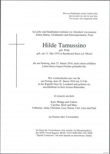 Hilde Tamussino