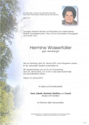 Hermine Wasserfaller