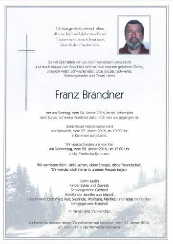 Franz Brandner