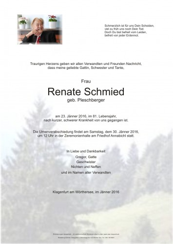 Renate Schmied