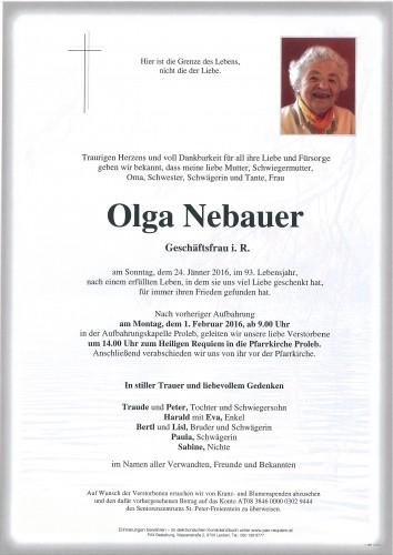 Olga Nebauer