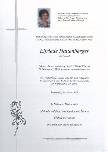 Elfriede Hattenberger