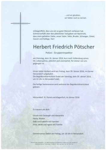 Herbert Friedrich Pötscher