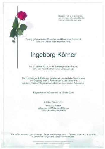 Ingeborg Körner