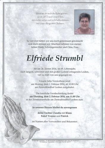 Elfriede Strumbl