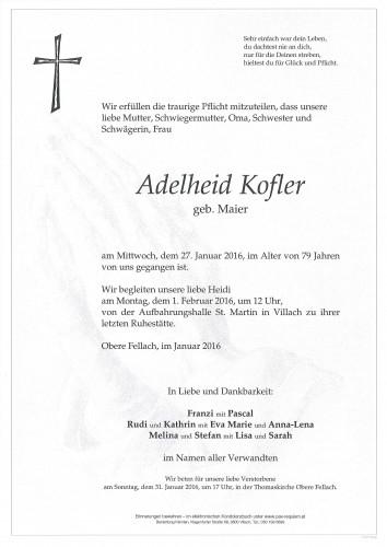 Adelheid Kofler