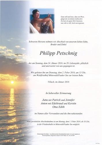 Philipp Petschnig