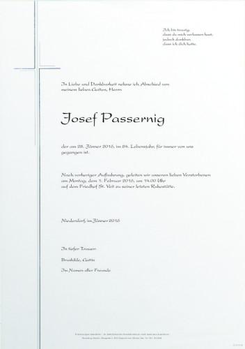 Josef Passernig