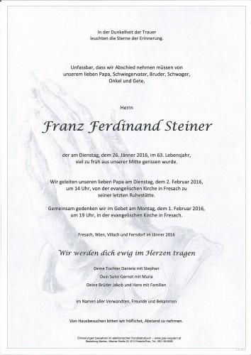 Franz Steiner