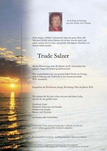 Gertrud Salzer