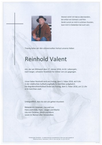 Reinhold Valent