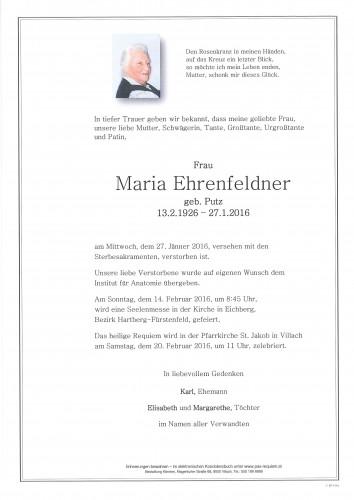 Maria Ehrenfeldner