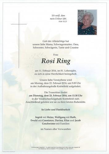 Rosi Ring