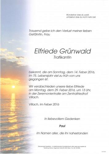 Elfriede Grünwald