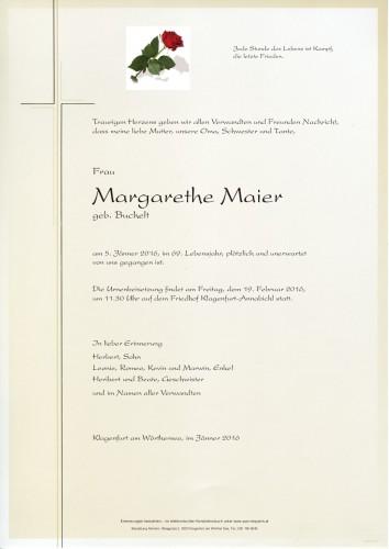 Margarethe Maier