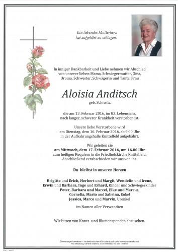 Aloisia Anditsch