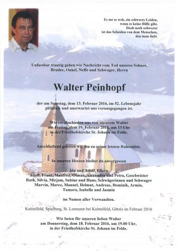 Walter Peinhopf