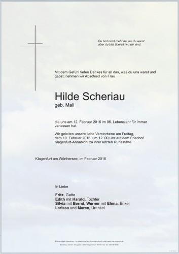 Hilde Scheriau