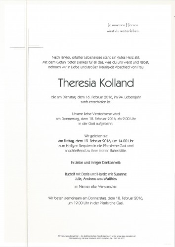Theresia Kolland