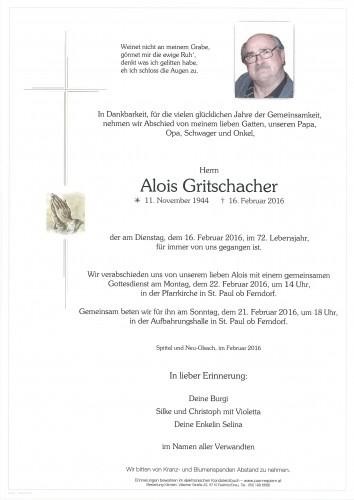 Alois Gritschacher